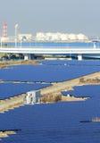 Station de panneau solaire photo libre de droits