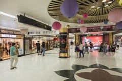 Station de place du ` s de personnes dans le souterrain de Changhaï Image stock