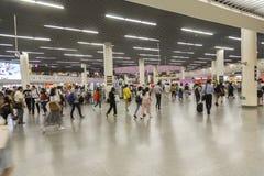 Station de place du ` s de personnes dans le souterrain de Changhaï Photos stock