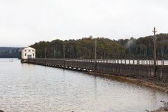 Station de pompage électrique hydraulique Images libres de droits