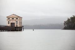Station de pompage électrique hydraulique Image libre de droits