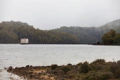 Station de pompage électrique hydraulique Images stock