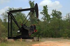 Station de pompage d'huile Photos stock