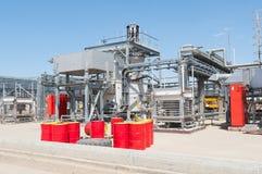 Station de pompage d'huile Images libres de droits