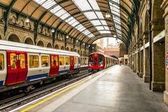 Station de porte de Notting Hill photos stock