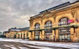 Station de Raiway de Saint-Matrice-DES-VOSGES photo libre de droits