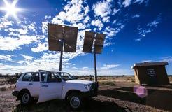 Station de relais de fibre de verre d'Australie Images libres de droits