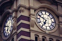 Station de rue de Flinders image stock