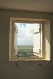 Station de signal de colline d'arme à feu, Barbade Image stock