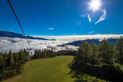 Station de ski Photos libres de droits