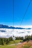 Station de ski Photographie stock libre de droits