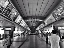 Station de skytrain de Bangkok Photo stock