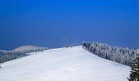 Station de sports d'hiver Photos libres de droits