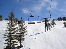 Station de sports d'hiver Photo stock