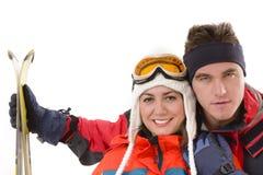 Station de sports d'hiver Images stock