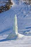 Station de sports d'hiver de montagnes - Innsbruck Autriche Image libre de droits