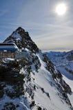 Station de sports d'hiver de Solden photographie stock libre de droits