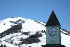 Station de sports d'hiver en Argentine Photos libres de droits