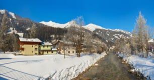 Station de sports d'hiver de montagnes mauvais Hofgastein - Autriche Photo stock