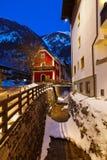 Station de sports d'hiver de montagnes mauvais Hofgastein Autriche Photo stock