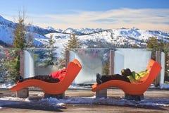 Station de sports d'hiver Schladming l'autriche Photographie stock