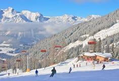 Station de sports d'hiver Schladming l'autriche Images stock
