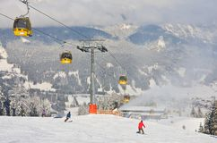 Station de sports d'hiver Schladming l'autriche Photos stock
