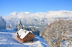 Station de sports d'hiver Schladming l'autriche photos stock