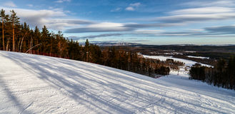 Station de sports d'hiver Sun Valley Photo stock