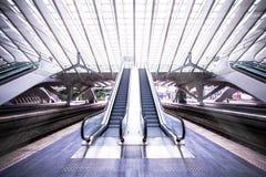 Station de train à Liège, Belgique Image libre de droits