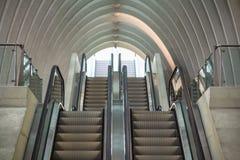 Station de train à Liège, Belgique Photographie stock libre de droits