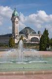 Station de train à Limoges Images libres de droits