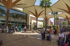 Station de train à Marrakech, Maroc Images stock