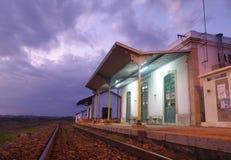 Station de train 1 Photographie stock libre de droits