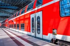 Station de train images stock