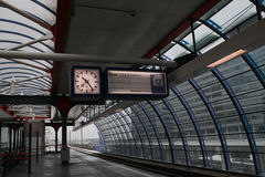 Station de train Photos stock