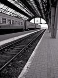 Station de train images libres de droits