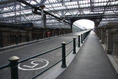Station de train Image libre de droits
