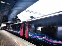 Station de train Image stock