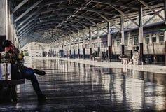 Station de train centrale de Bangkok Photographie stock