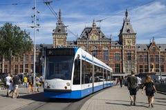 Station de train d'Amsterdam Centraal Photo stock
