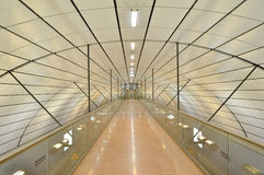 Station de train d'aéroport de Hamburg International en Allemagne Photo libre de droits