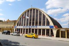 Station de train d'Eskisehir Photo stock