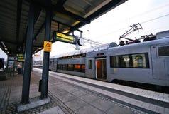 Station de train d'Orebro Images libres de droits
