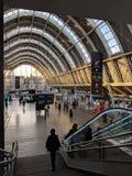 Station de train d'Orléans France images stock