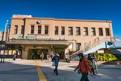 Station de train d'Ueno image stock