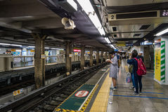 Station de train d'Ueno Photographie stock