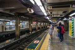 Station de train d'Ueno photographie stock
