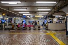 Station de train d'Ueno photos stock