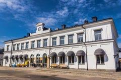 Station de train dans Karlskrona Image libre de droits